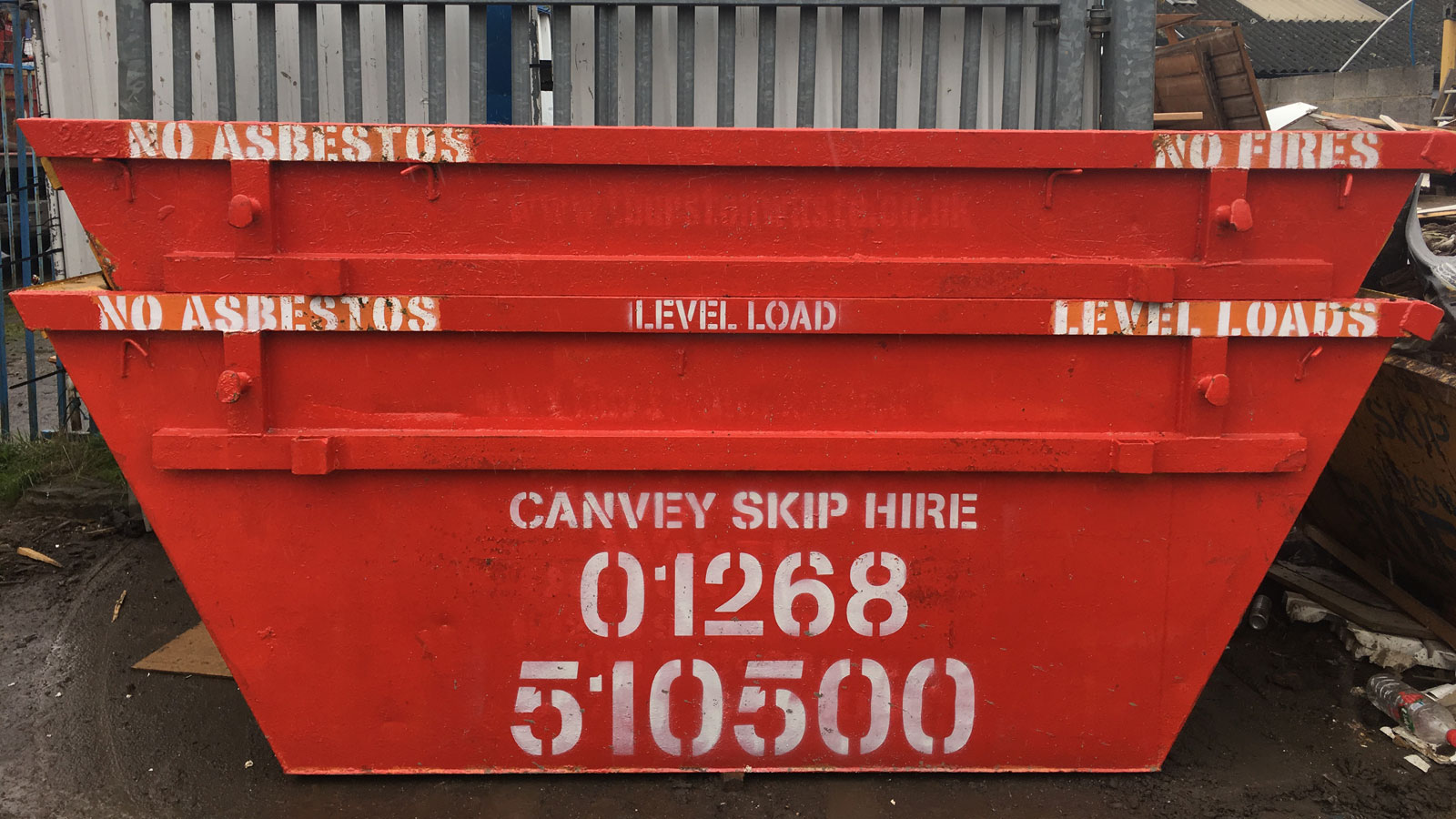 Skip hire in Hockley